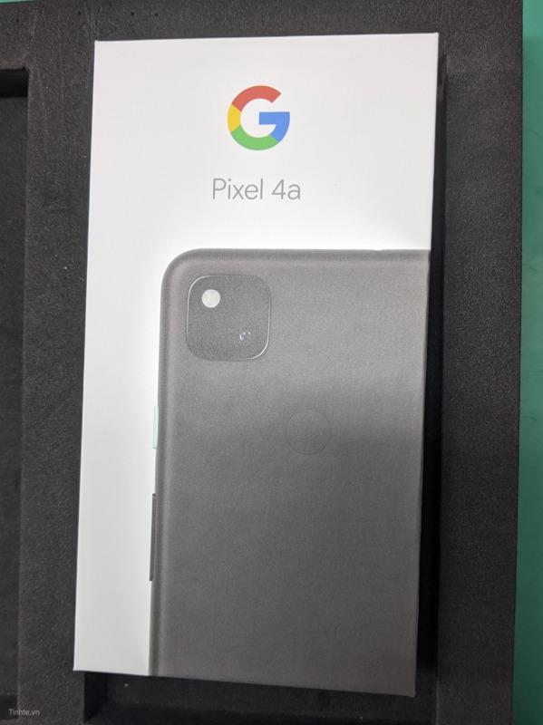Pixel 4aの箱の画像