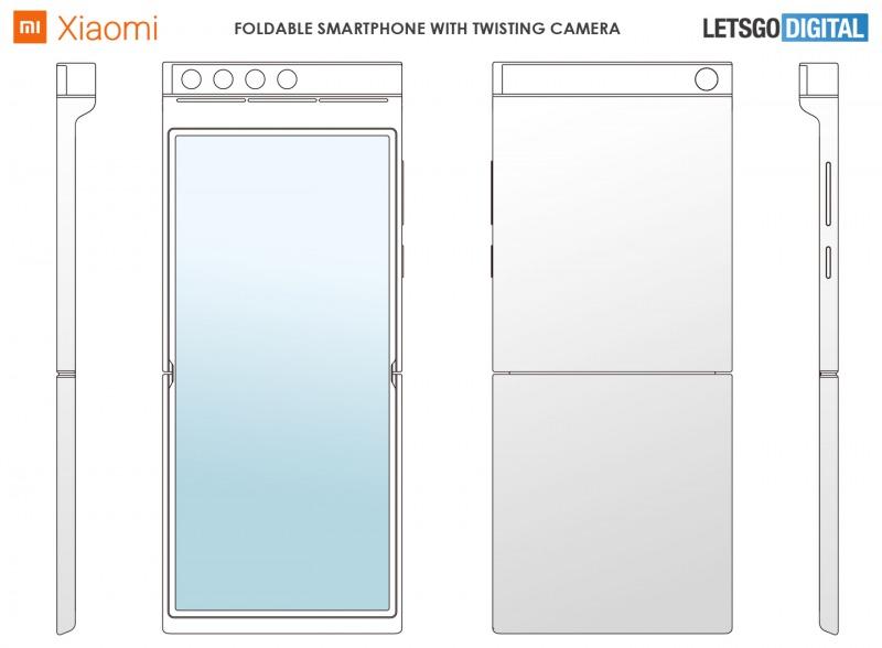 Xiaomiの折り畳みスマートフォンの新特許2
