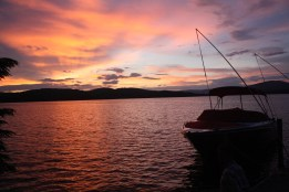 Sunset, Lake Winnipesaukee