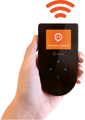 best portable hotspots - skyroam