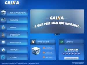 Simulador CAIXA – App CAIXA para IPAD