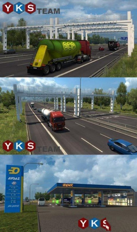 Mod Map Ets2 : Turkey, (1.31.x), Simulator, Games