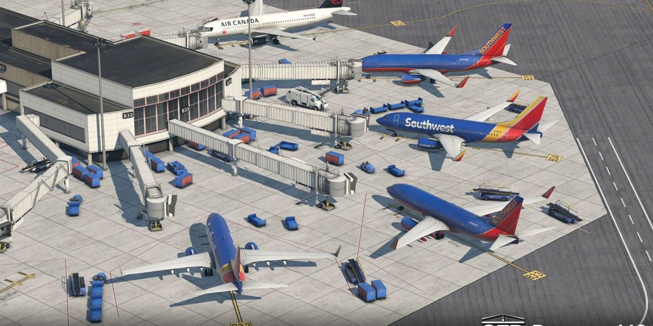 KBOS Boston Logan International Airport 2 pro XP11 Zdarma