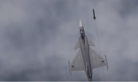Komunitní JAS-39-C Gripen přistál na PC