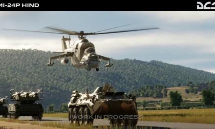 Čekání na  DCS: Mi-24P Hind
