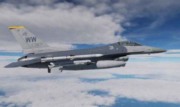 Dvě nová videa s použitím JSOF pro DCS: F-16C Viper