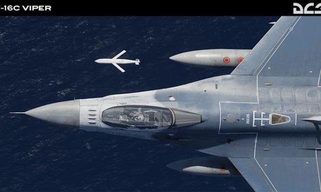 DCS World, nové funkce pro F-16C a F/A-18C