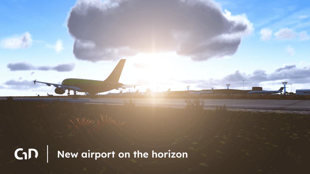 Chudoba Design pracuje na novém placeném letišti pro X-Plane