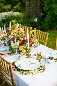 SimuLinen 2015 summer white decorative napkin