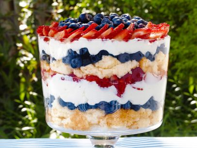 Perfect Berry Trifle for Independence Day Celebrations