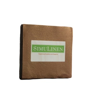 SimuLinen Cocktail Beverage Party Napkins - Copper/Bronze