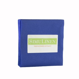 SimuLinen Blue Cocktail Beverage Napkins