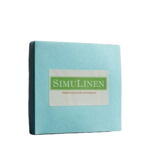 SimuLinen Cocktail Beverage Party Napkins - Sky Blue