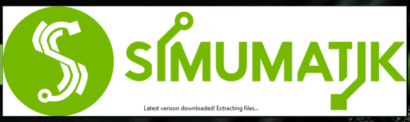 Simumatik local server upgrading to the latest version automatically.