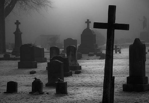 Νεκροταφείο με σταυρούς