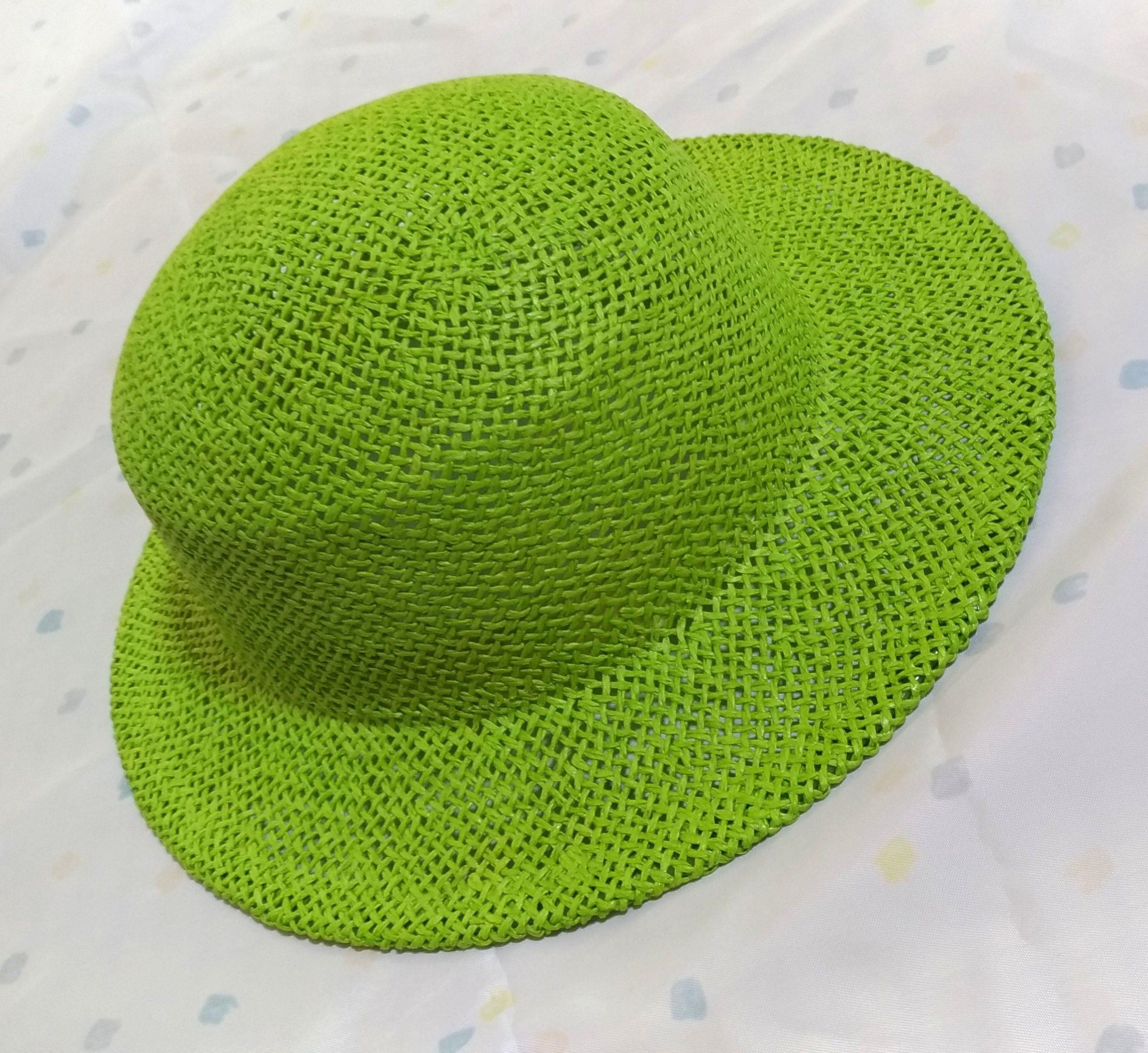 石田製帽麦わら帽子