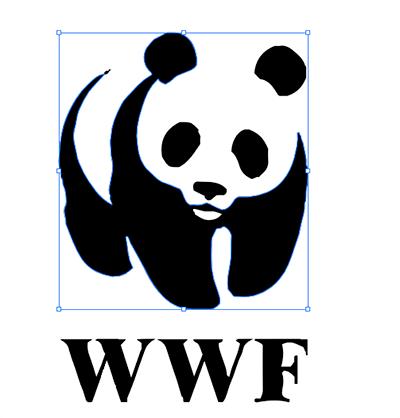 logo wwf vectorisé
