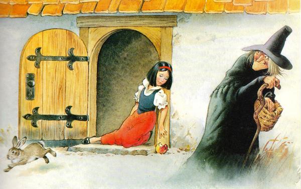 Blancanieves y los 7 enanitos  Hnos Grimm 2 parte  En Clave de Nios