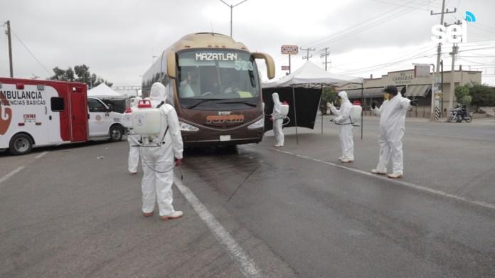 A Partir de Hoy Filtros Sanitarios en Entradas a Mazatlán | Sinaloa en Linea
