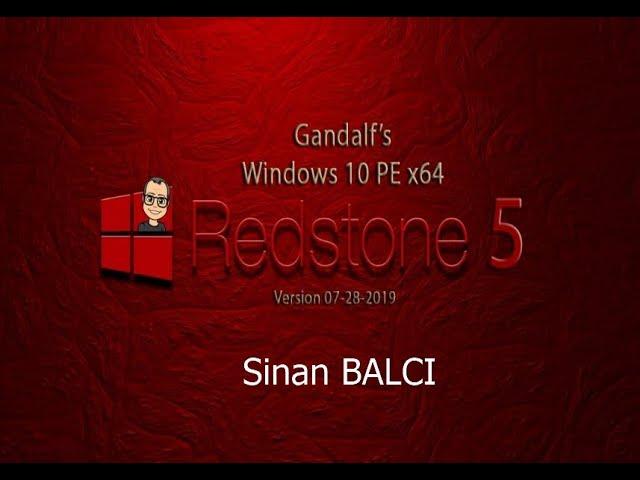 Gandalf RedStone 5 ile Windows şifrelerini kırabilir, Program yüklemeden imaj alabilirsiniz