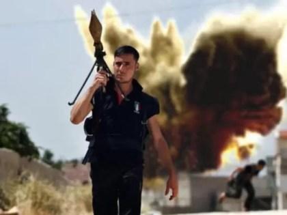 Foto: El rebelde sirio del que todo el mundo habla