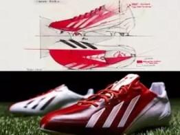 Fotos de los nuevos botines de Lionel Messi