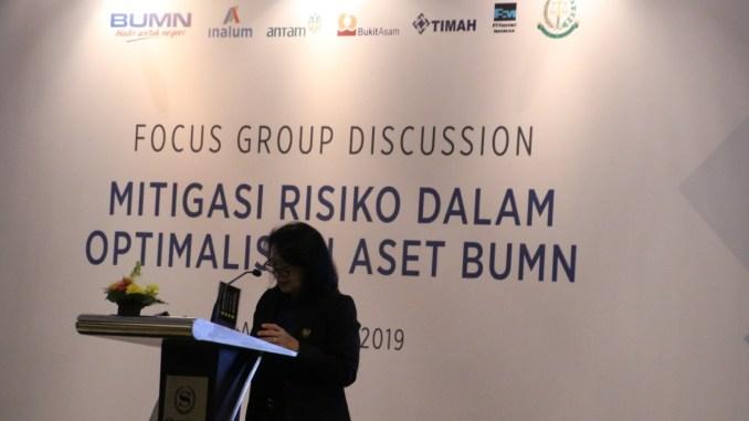 Mitigasi Resiko Dalam Optimalisasi Aset BUMN, Gelar Diskusi di Bali Jamdatun Dengan PT Inalum dan Holding Industri Pertambangan.