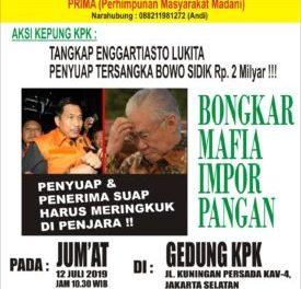 Bangga dan Tetap Mendukung KPK, Aktivis Minta Para Eksponen Kelompok Cipayung Dibersihkan Dari Korupsi.