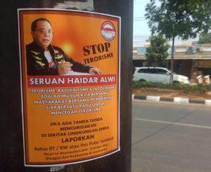 Aksi Terorisme Kian Memprihatinkan, Pegiat Anti Radikalisme dan Intoleransi Haidar Alwi Sebar Seruan Stop Terorisme di Jakarta.