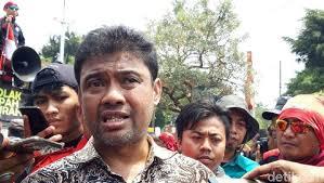 Presiden Konfederasi Serikat Pekerja Indonesia (KSPI) Said Iqbal: Selain Darurat Virus Corona, Indonesia Juga Sedang Darurat PHK Buruh.