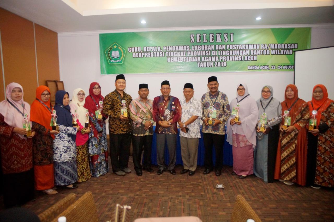 Daftar Guru Dan Tenaga Kependidikan Madrasah Terbaik Aceh Tahun 2019 Sinarpost Com