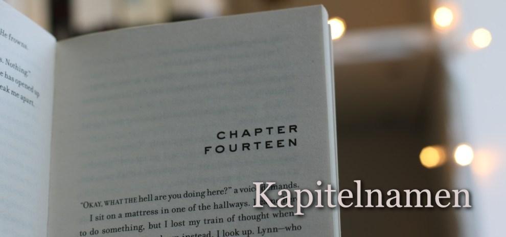Wie solltest du die Kapitel deines Buches benennen?
