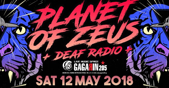 Planet Of Zeus Live in Athens // Special Guests : Deaf Radio