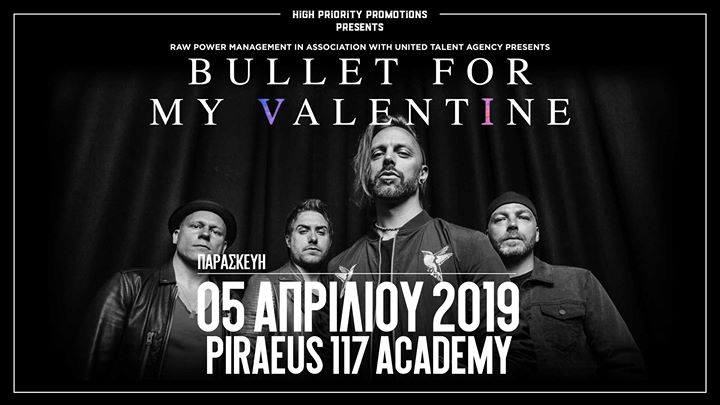 Bullet For My Valentine - Athens - 05 April 2019