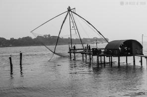 #Día 28 - Redes de pesca chinas de Cochin