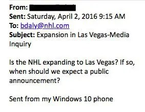 Email-To-NHL
