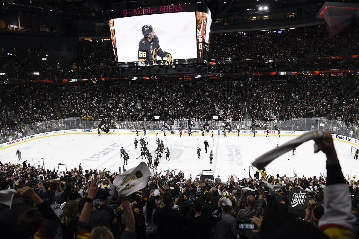 Full schedule set for Vegas Golden Knights second-round playoff series