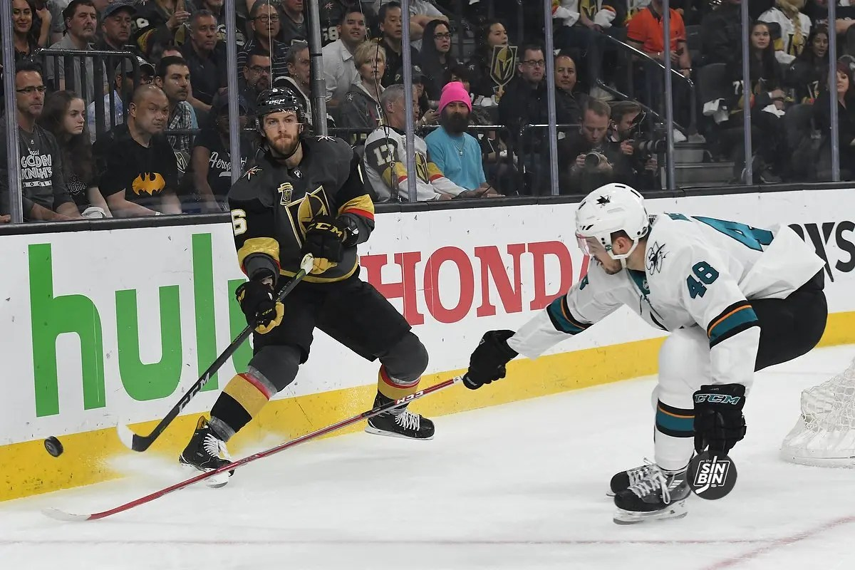 Golden Knights take Stanley Cup playoff series on Sharks