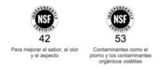Logo NSF 42 53