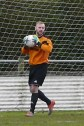 Midfielder Chris Heard forced to show off his goalkeeping skills