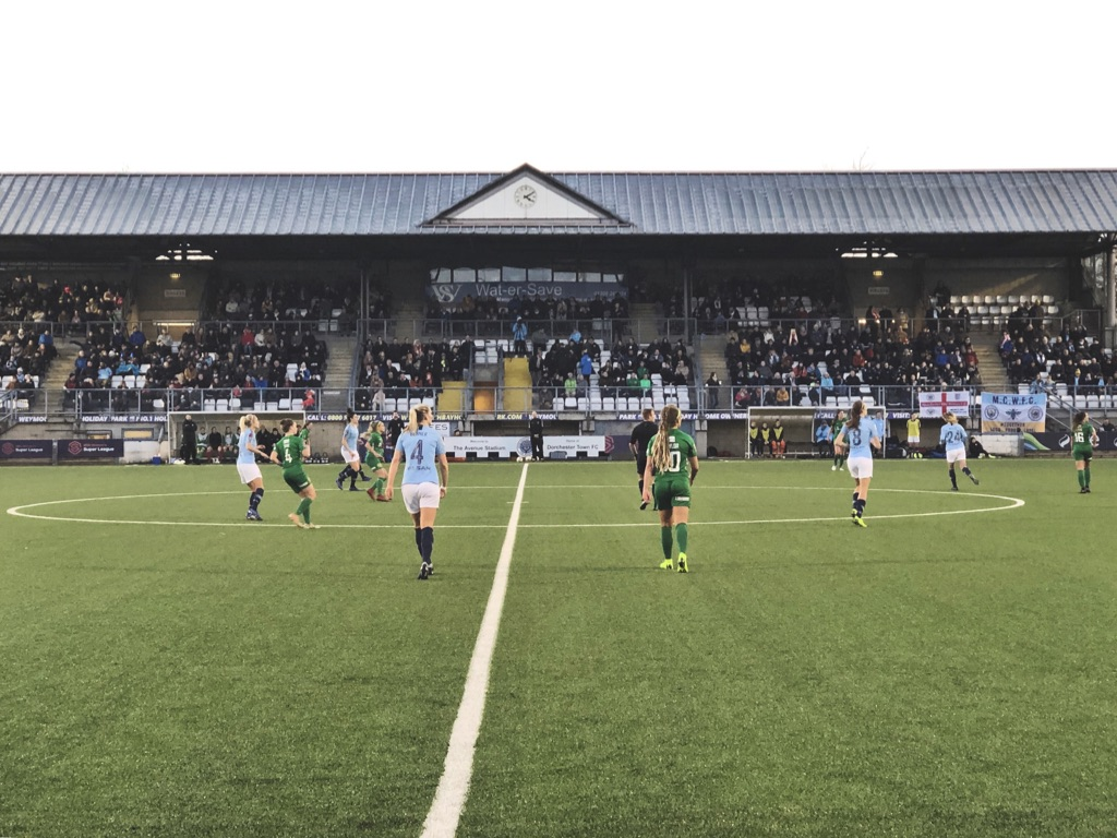 Yeovil Town Ladies vs Manchester City