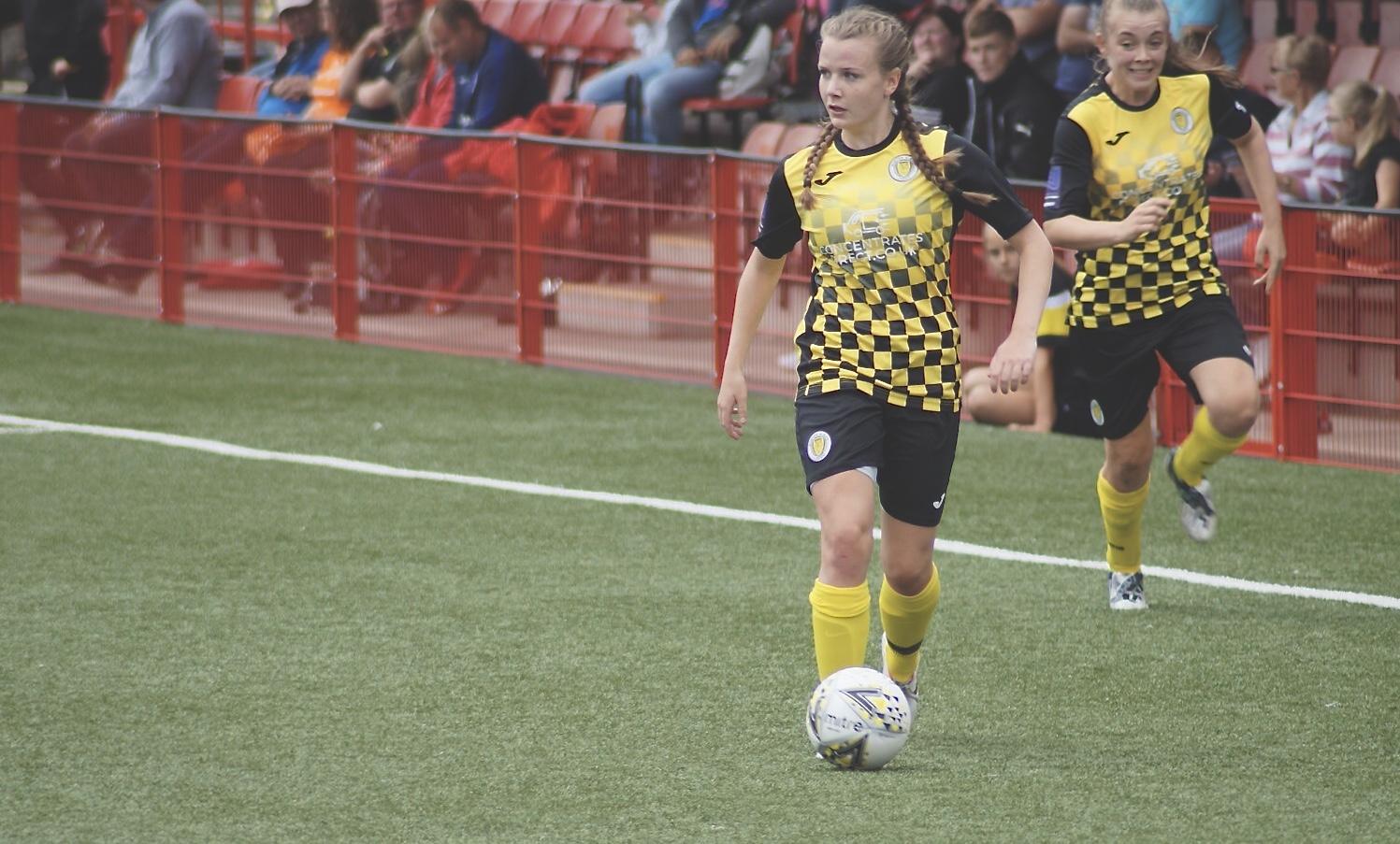 Burton Albion's Hayley Sutton