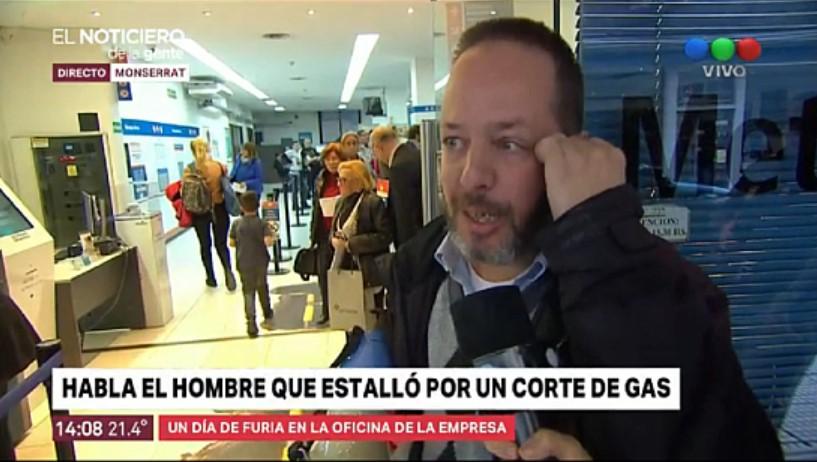 [VIDEO] HABLÓ EL ABOGADO QUE ESTALLÓ EN METROGAS Y REDOBLÓ LA APUESTA