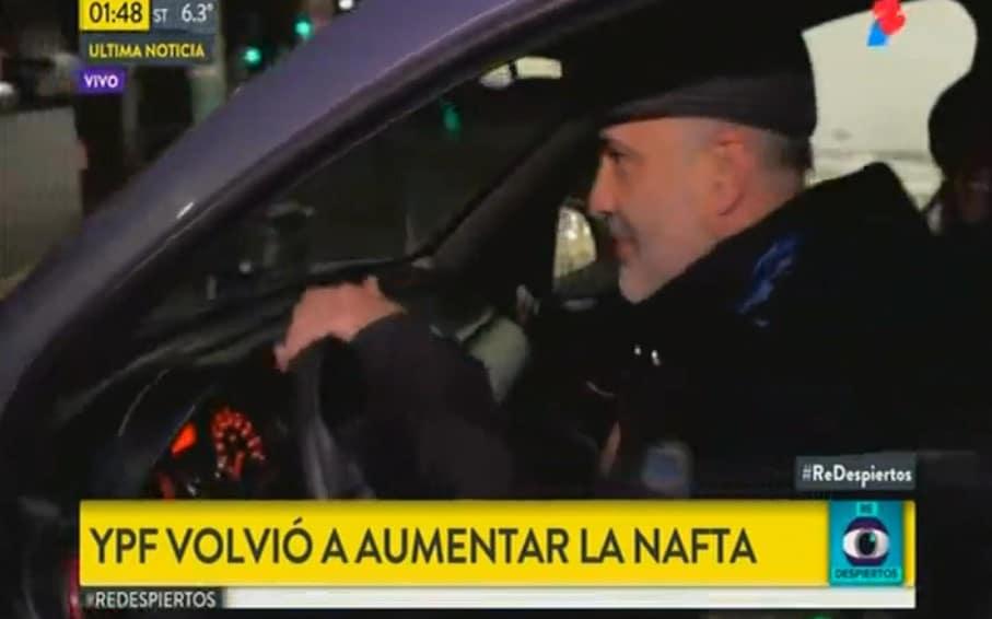 [VIDEO] KIRCHNERISTA LE HIZO PELO Y BARBA A UN NOTERO DE @TodoNoticias