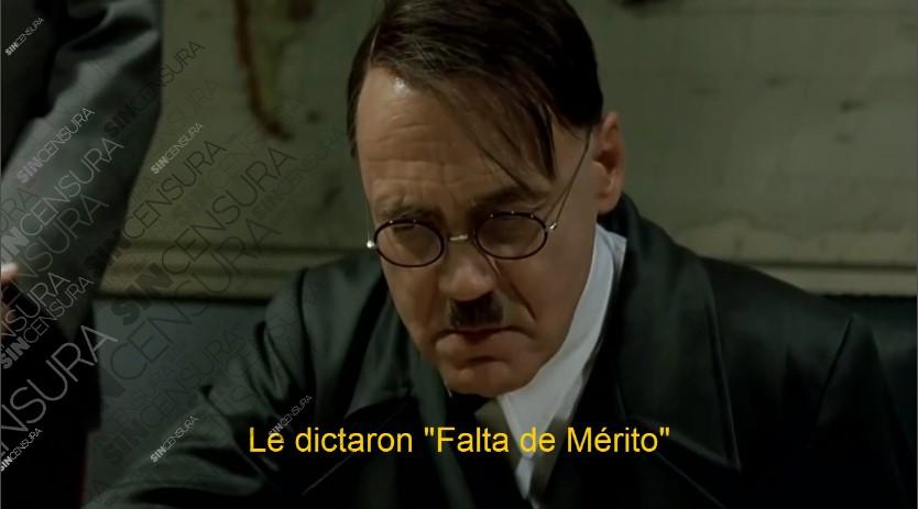"[VIDEO] HITLER SE ENTERA QUE SE CAYÓ LA OPERETA DE ""LA RUTA DEL DINERO K"""