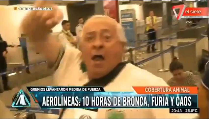 [VIDEO] JUAN CARLOS GUARNERIO, DE JUNIN, ENVIÓ UN MENSAJE A ALICIA BLANCO VILLEGAS Y A MAURICIO MACRI