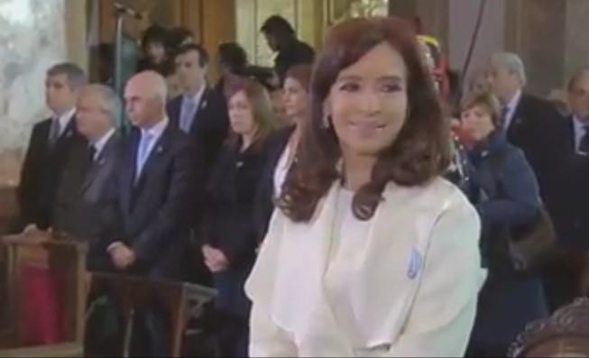 [VIDEO] TREMENDA MIRADA DE VIDAL HACIA @CFKArgentina