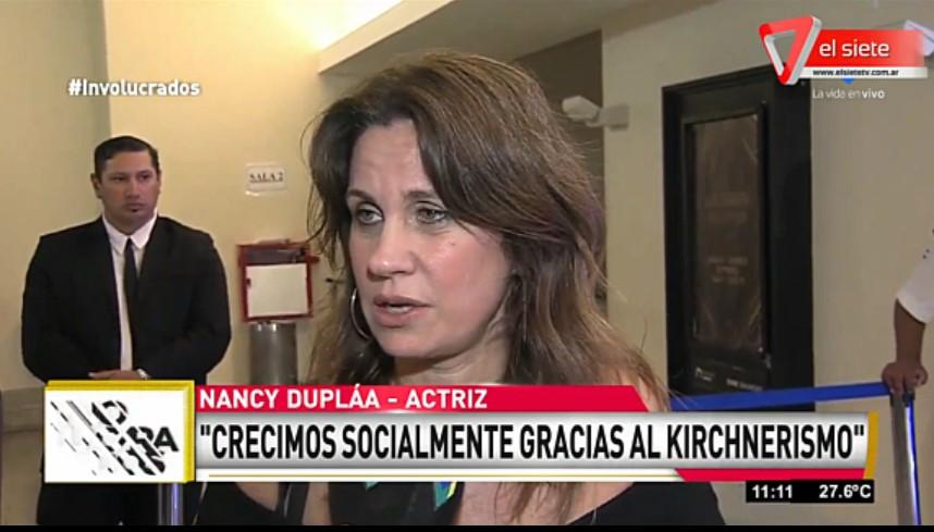 [VIDEO] NANCY DUPLÁA BANCÓ EN VIVO A @CFKArgentina Y AL KIRCHNERISMO