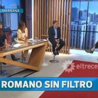 [VIDEO] GERARDO ROMANO LAPIDARIO EN EL PROGRAMA DE DOMAN EN EL TRECE
