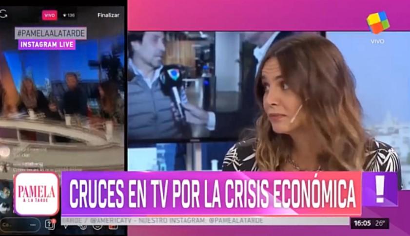 [VIDEO] TERRIBLE CERRADA DE PICO DE CARMELA BÁRBARO A AMALIA GRANATA